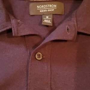 Nordstrom Mens One button classic polo medium